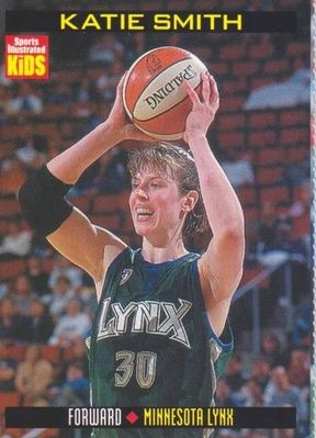 Katie Smith Minnesota Lynx 2000 Sports Illustrated for Kids card