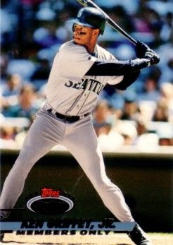 Ken Griffey Jr. Seattle Mariners 1993 Stadium Club Members Only card