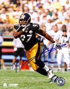 Kendrell Bell autographed Pittsburgh Steelers 8x10 photo