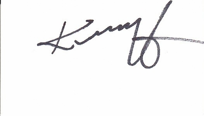 Kenny G autograph or cut signature