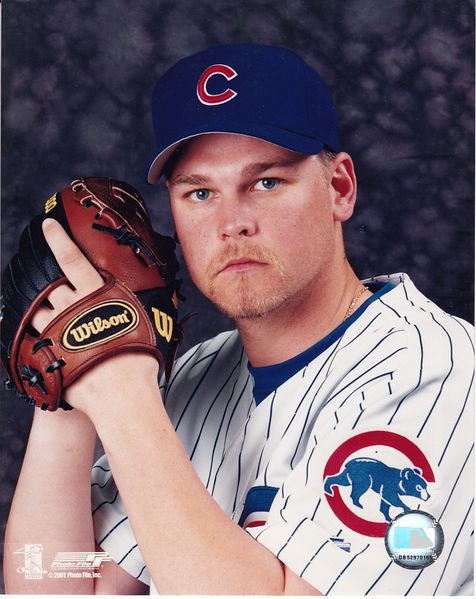 Kerry Wood Chicago Cubs 8x10 portrait photo