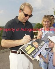 Kevin Costner autographed A Perfect World 8x10 black and white photo