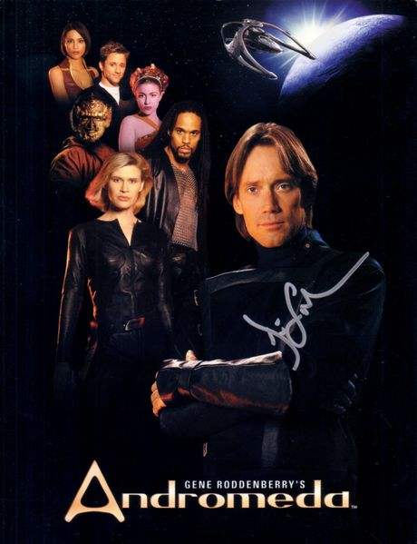 Kevin Sorbo autographed Andromeda 8x11 promotional photo