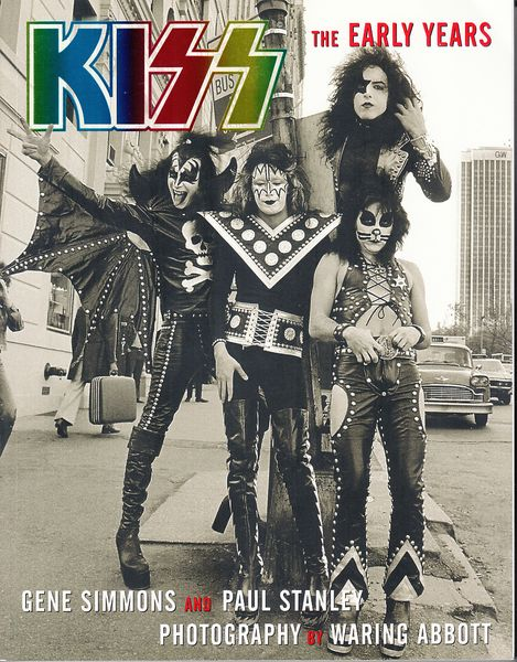 KISS the Early Years softcover coffee table 2002 first edition book