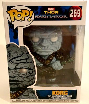 Korg Thor Ragnarok movie Funko Pop