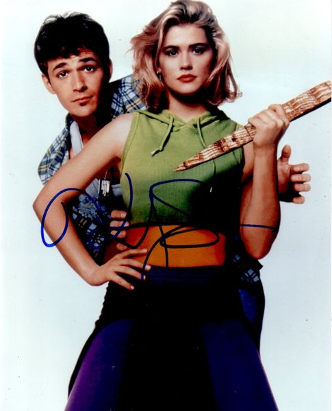 Kristy Swanson autographed Buffy the Vampire Slayer 8x10 posed photo