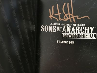 Kurt Sutter autographed Sons of Anarchy Redwood Original graphic novel Volume 1
