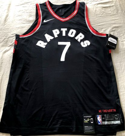 Kyle Lowry Toronto Raptors authentic Nike game model 2017 2018 2019 black jersey NEW WITH TAGS