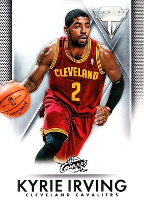 Kyrie Irving Cleveland Cavaliers 2013-14 Panini Titanium card #15