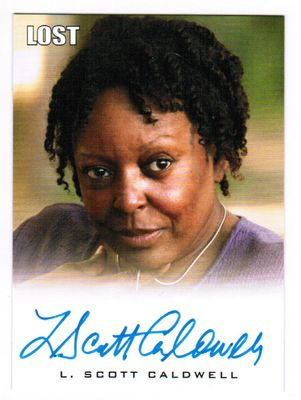 L. Scott Caldwell LOST certified autograph card