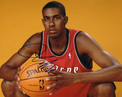 LaMarcus Aldridge autographed Portland Trail Blazers 8x10 photo