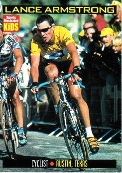 Lance Armstrong 1999 Sports Illustrated for Kids card