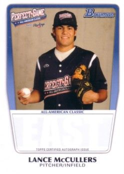 Lance McCullers 2011 Perfect Game Topps Bowman Rookie Card (AFLAC)