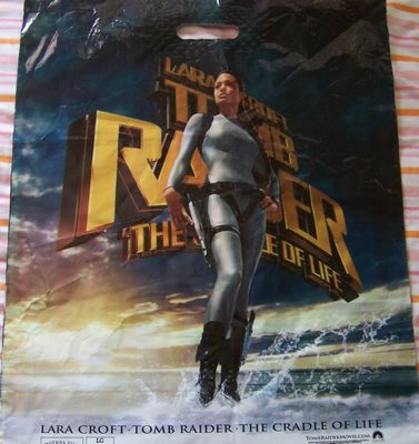 Lara Croft Tomb Raider The Cradle of Life movie promo bag
