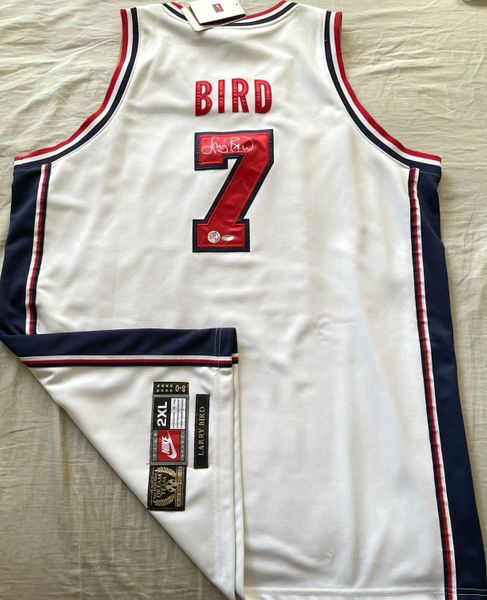 Larry Bird autographed 1992 USA Dream Team authentic Nike Gold Medal jersey (Schwartz Sports)