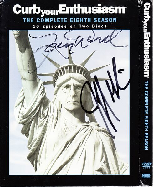 Larry David and Jeff Garlin autographed Curb Your Enthusiasm Season 8 DVD set (JSA)
