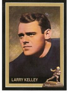 Larry Kelley Yale Bulldogs 1936 Heisman Trophy winner card