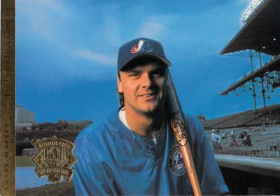 Larry Walker Montreal Expos 1994 Upper Deck All-Star Game jumbo card
