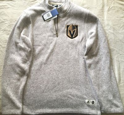 Las Vegas Golden Knights Adidas 1/4 zip pullover sweater (BRAND NEW WITH TAGS)