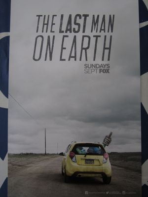 Last Man On Earth 2015 San Diego Comic-Con mini 11x17 FOX promo poster (Will Forte)