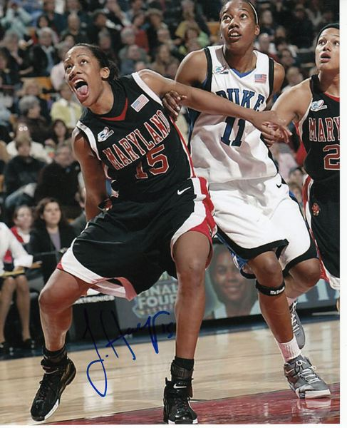 Laura Harper autographed Maryland Terrapins 8x10 photo