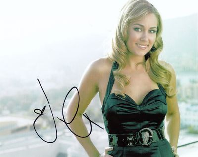 Lauren Conrad autographed sexy 8x10 photo