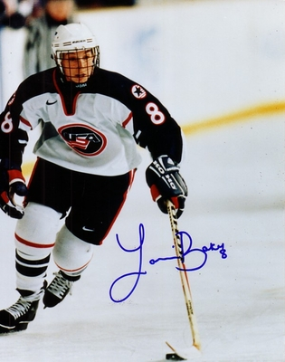 Laurie Baker autographed 1998 USA Women's Hockey Team 8x10 photo