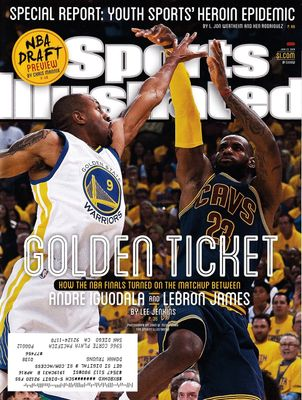 LeBron James Cleveland Cavaliers 2015 Sports Illustrated issue