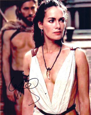 Lena Headey autographed 300 movie 8x10 photo