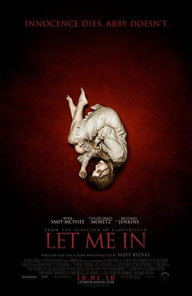 Let Me In 2010 dated movie poster (Chloe Moretz)