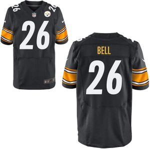 Le'Veon Bell Pittsburgh Steelers authentic Nike Elite game model stitched black jersey NEW WITH TAGS