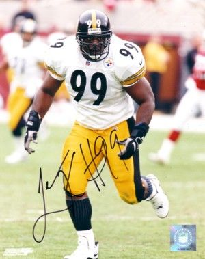 Levon Kirkland autographed 8x10 Pittsburgh Steelers photo