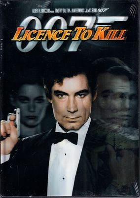 Licence to Kill James Bond 007 movie DVD Digitally Restored with RARE lenticular cover NEW & SEALED