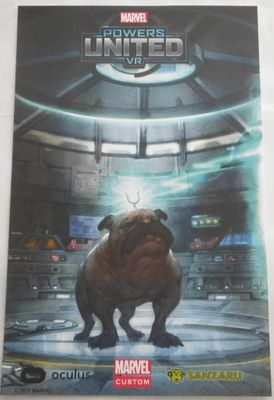 Lockjaw Marvel Powers United VR 2017 Comic-Con poster