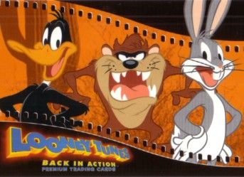 Looney Tunes Back in Action movie 2003 Comic-Con promo card LT-SD