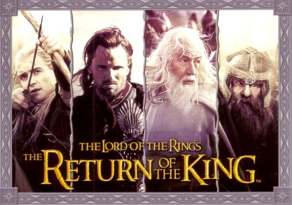 Lord of the Rings Return of the King promo postcard