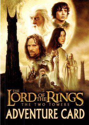 Lord of the Rings The Two Towers movie 2003 Adventure Card promo postcard