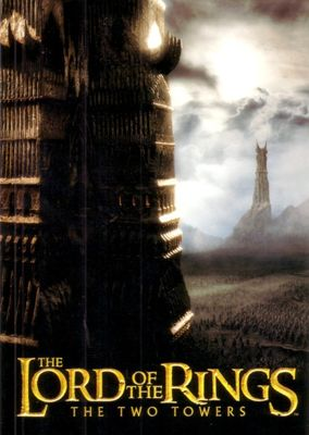 Lord of the Rings The Two Towers movie 2003 promo postcard