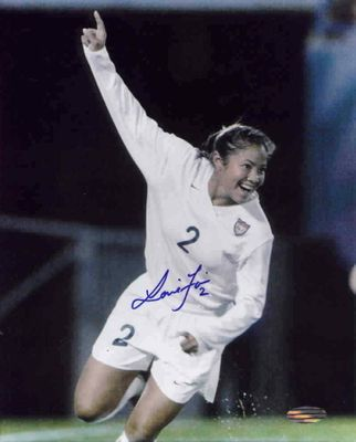 Lorrie Fair autographed U.S. Soccer 8x10 photo (Steiner)