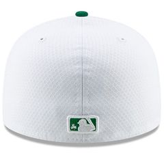 Los Angeles Angels 2019 St. Patrick's Day authentic New Era 59FIFTY fitted game model cap or hat NEW