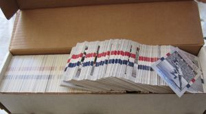800 assorted 1991 Impel USA Olympic Hall of Fame cards MINT (NO SETS)