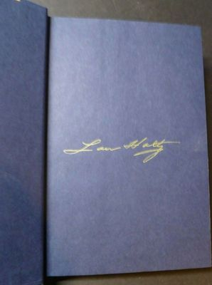 Lou Holtz autographed Wins, Losses, and Lessons hardcover book