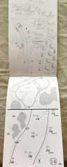 Louis Oosthuizen autographed 2017 Farmers Insurance Open tournament used yardage book