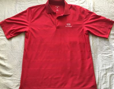 LPGA Kia Classic red Antigua golf shirt NEW