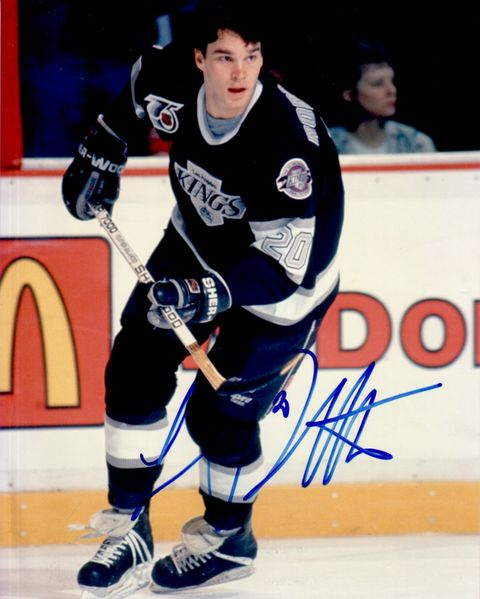 Luc Robitaille autographed Los Angeles Kings 8x10 photo