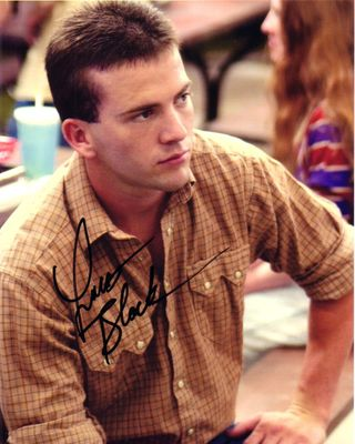 Lucas Black autographed Friday Night Lights 8x10 movie photo