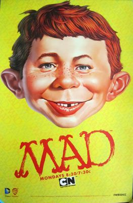 Mad TV 2013 Comic-Con exclusive 11x17 mini Alfred E. Neuman poster