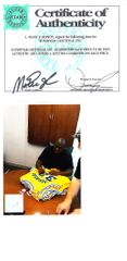 Magic Johnson autographed Los Angeles Lakers authentic Adidas stitched jersey (Superstar Greetings)