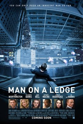 Man on a Ledge mini 11x17 movie poster (Sam Worthington)