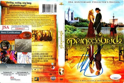 Mandy Patinkin autographed The Princess Bride DVD cover insert sleeve (JSA)